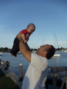 Papa C and Landon