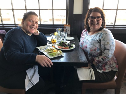 lunch with Mary Ann